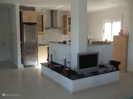 plateau en keuken boven