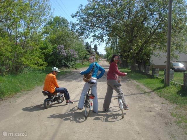 Onze gasten maken een fietstocht