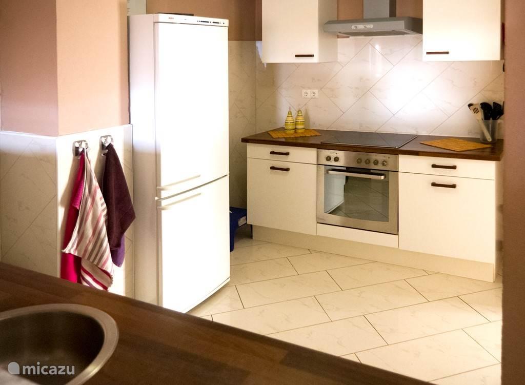 Kookgedeelte open keuken.