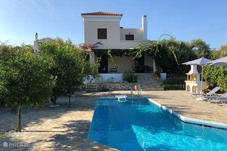 Vakantiehuis Griekenland, Kreta, Rethymnon villa Villa Zeus Prinès