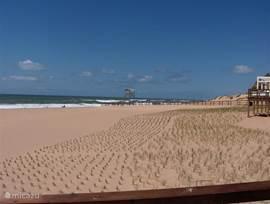 Vanaf het appartement is het 250 meter lopen naar het strand.
