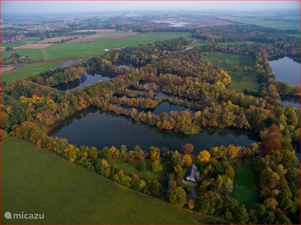 Ligging bij Natuurpark de Leemputten
