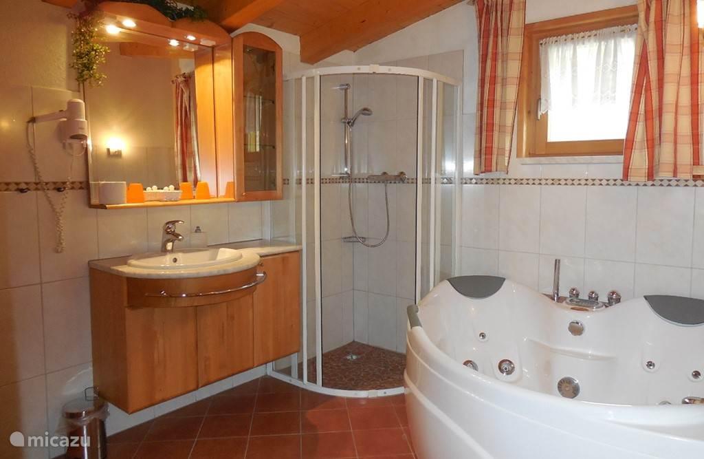 Appartement Edelweiss Badkamer