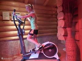 Cross Walker to keep on your training during your vacation.
