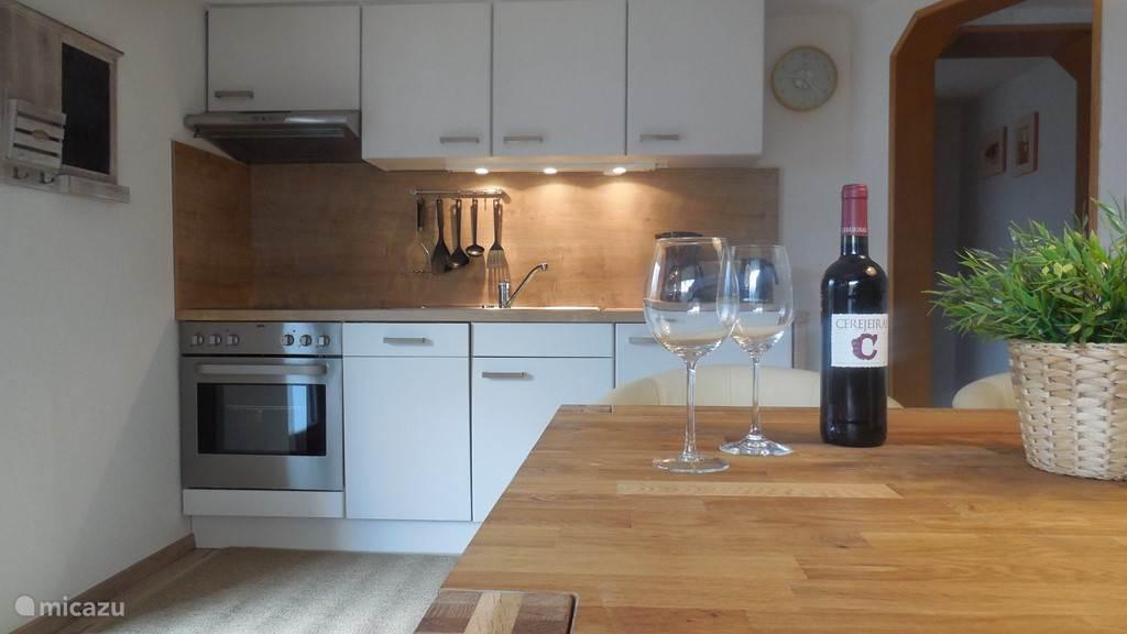 Keuken Appartement Fuchsbau