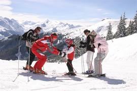 Diverse ski gebieden in de directe omgeving