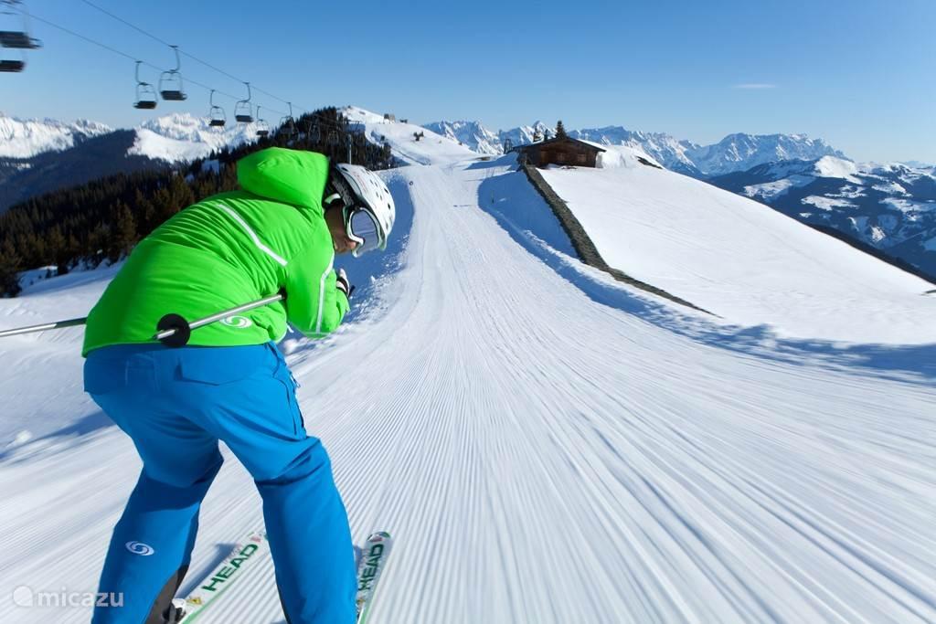 Ski area Schmittenhöhe - Zell am See / Kitsteinhorn - Kaprun (glacier)