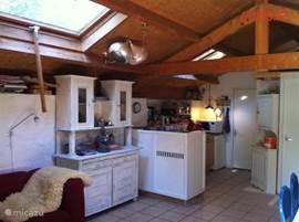 Open keuken in hoofdwoning