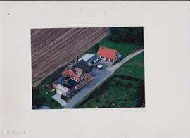 Luchtfoto van de Molkerei.