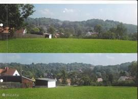 Het heuvellandschap in Klettenberg.