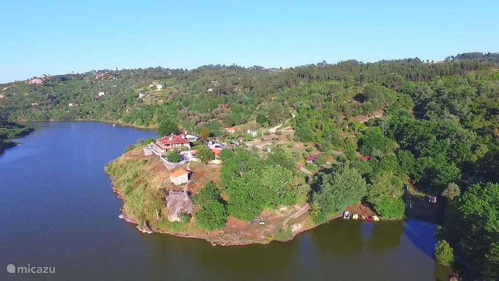 Vakantiehuis Portugal, Beiras, Póvoa de Midões Vakantiehuis Retiro no Rio, Alecrim