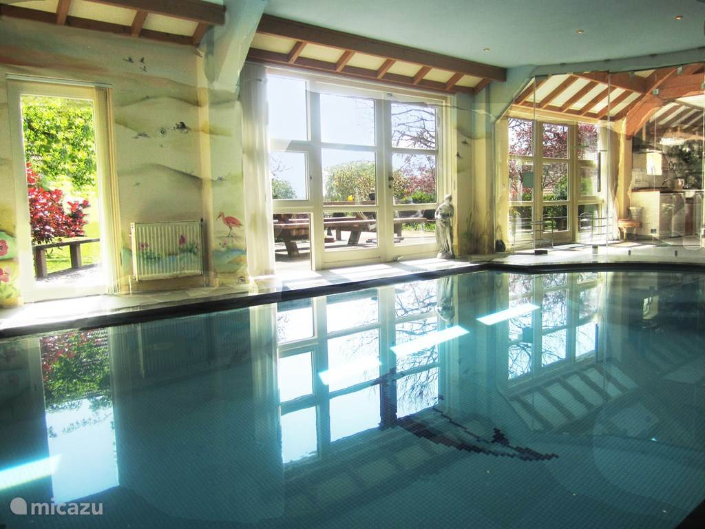 Vacation rental Netherlands, Groningen, Westerwolde Manor / Castle House Iris, with private indoor pool