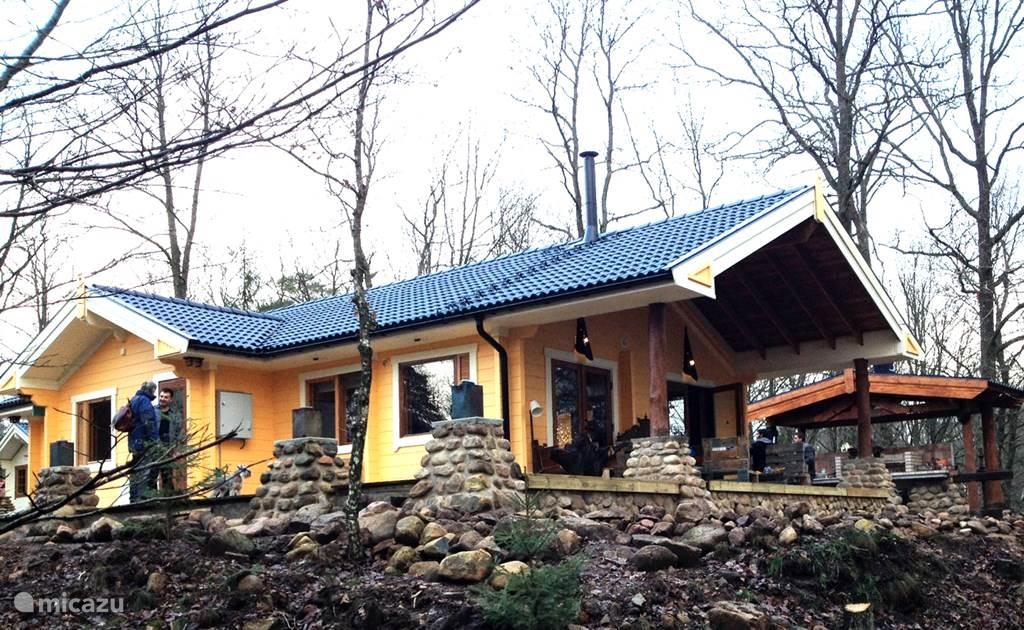 Vakantiehuis Zweden – blokhut / lodge Piti