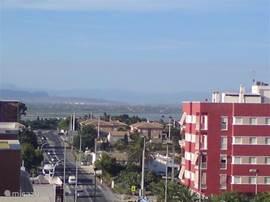 Avenida de la Alegría kijkend richting Santa Pola