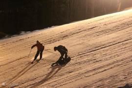 Skipiste Filipstad waar je ook een aantal avonden kunt skiën en soms tot 24.00