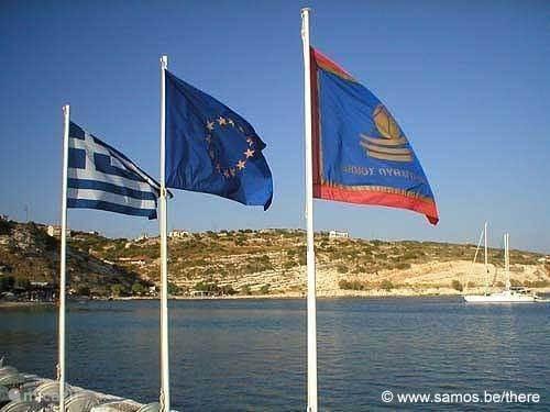Buureiland Samos Griekenland