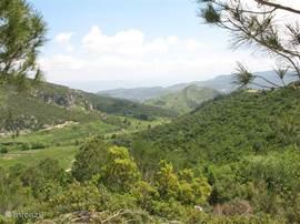 Slechts op 10 minuten met de auto, bevind u zich in deze mooie natuurlijke omgeving.