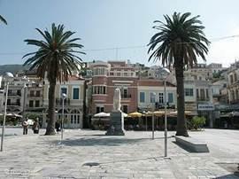 Dagje Samos Griekenland, een andere cultuur en genieten wat de Griekse keuken je te bieden heeft.