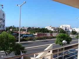 uitzicht vanaf het terras 1e etage