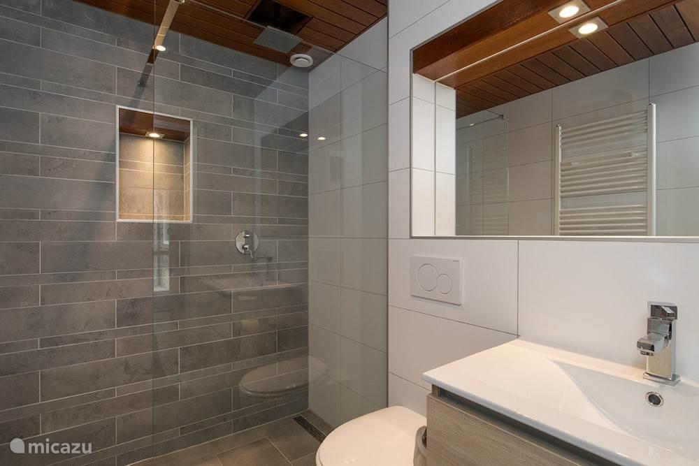 Prachtige nieuwe badkamer met inloopdouche