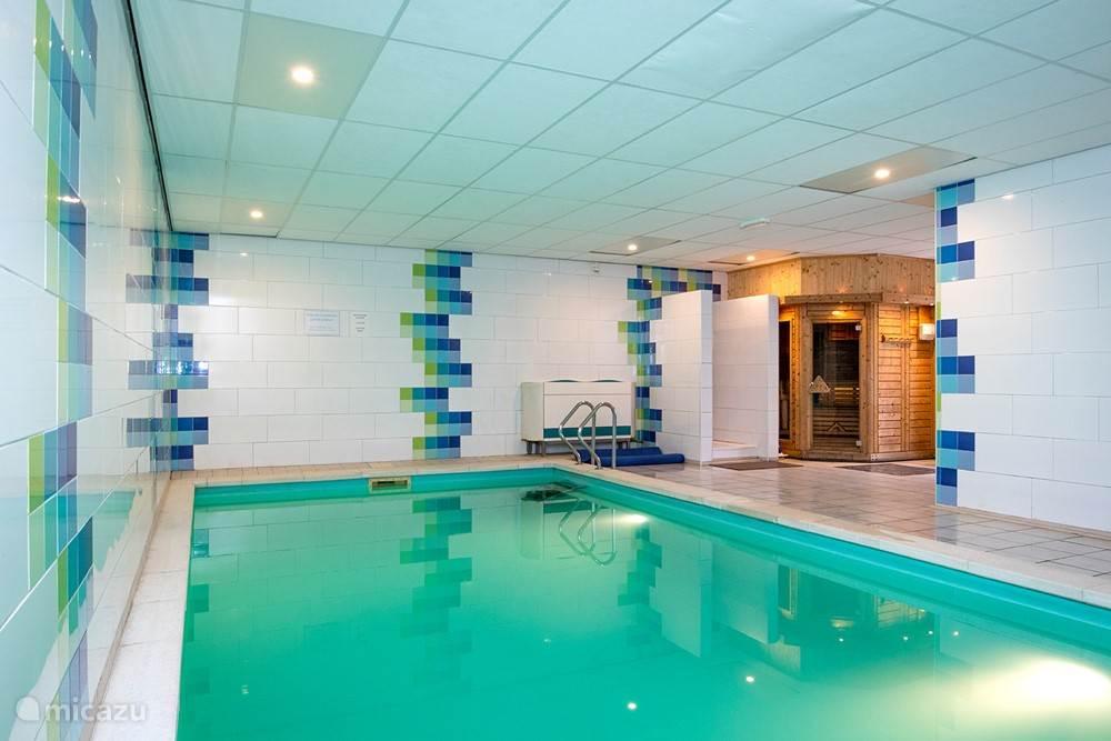 zwembadruimte met Finse sauna