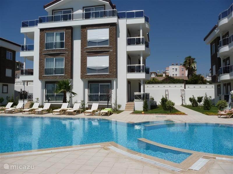 Vakantiehuis Turkije, Turkse Riviera, Side appartement Selena Garden