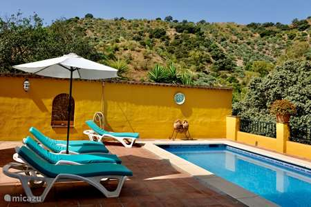 Vakantiehuis Spanje, Costa del Sol, Comares villa Villa Lola. NIEUW! Aug-sept. KORTING