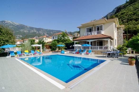 Vakantiehuis Turkije, Lycische Kust, Ovacik - Hisaronu villa Villa Orman; 5 slaapkamer.