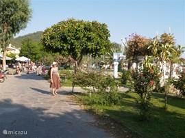 Göcek, jachthaven voor de Turkse yetset
