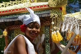 Bali het land waar elke dag wel een ceremonie te beleven is.