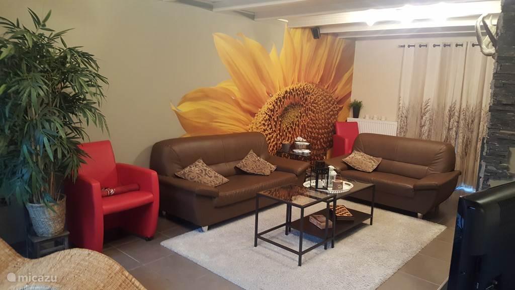 Gemütliches Wohnzimmer, Sitzecke