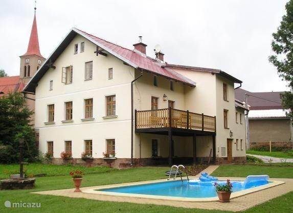 Group accommodation, Czech Republic, Giant Mountains, Cermna, villa Droomhuis