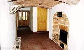 Basement with its beautiful arches