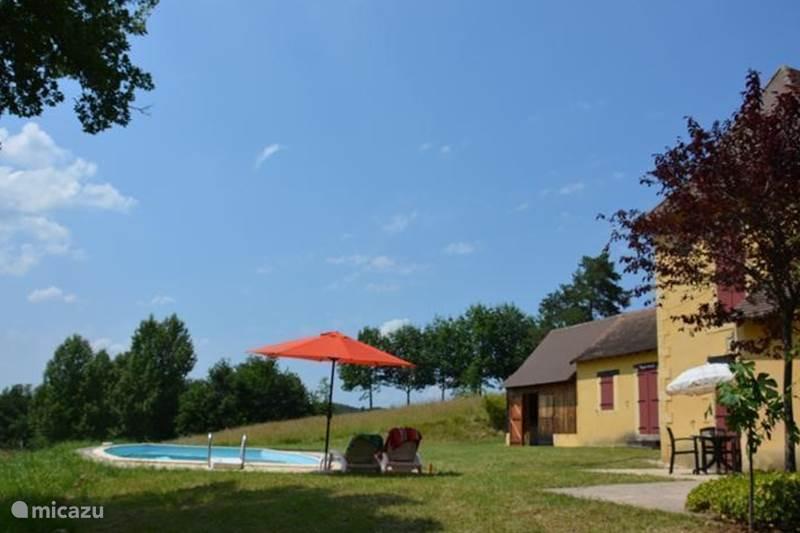 Vacation rental France, Dordogne, Bars Holiday house La Grimaudie - 'Le vieux Rabot'