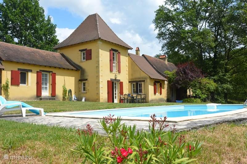 Vakantiehuis Frankrijk, Dordogne, Bars Vakantiehuis La Grimaudie - 'Le vieux Rabot'