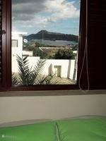 zicht slaapkamer appartement 1 en 2