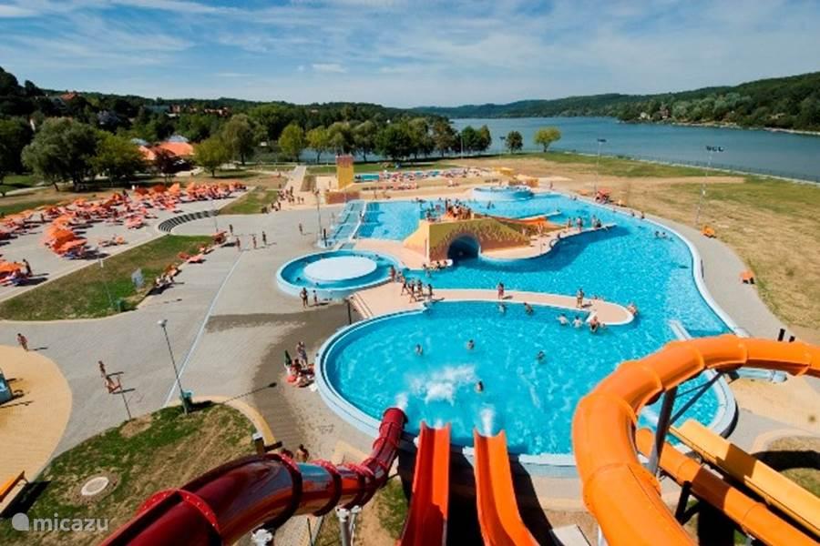 Ferienhaus pince h z in szederkeny baranya ungarn mieten micazu - Wasserrutsche fur pool ...