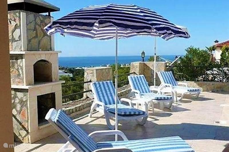 Vakantiehuis Turkije, Turkse Rivièra, Kargicak Villa Villa Valencia privézwembad&zeezicht