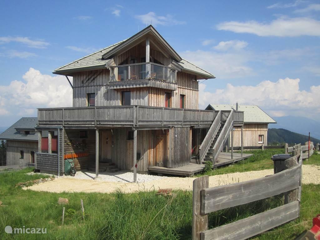 Vacation rental Austria, Carinthia, Klippitztörl chalet Klippitzturm