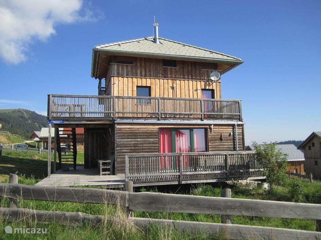 Vakantiehuis Oostenrijk, Karinthië, Klippitztörl Chalet Chalet Klippitzturm