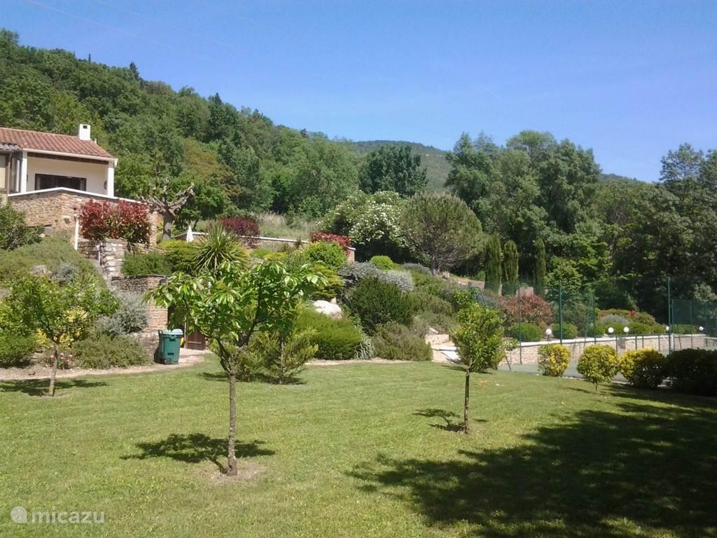 overzicht over de tuin