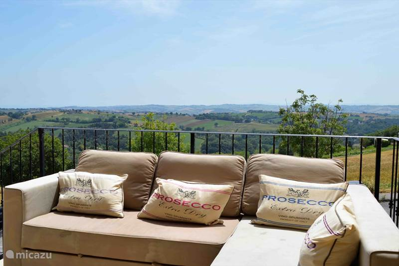 Vakantiehuis Italië, Marche, Castelcolonna Appartement La Vista delle Marche
