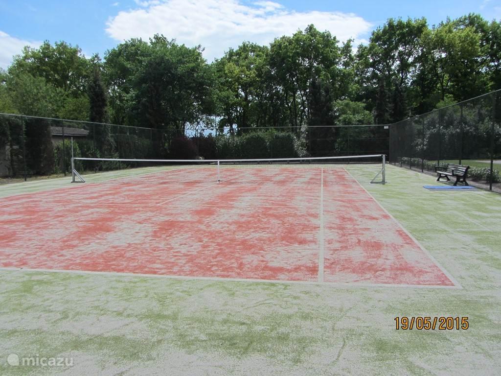 tennis baan