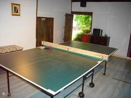 Games room in de schuur