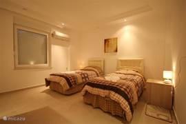 2x slaapkamers met ieder 2 bedden