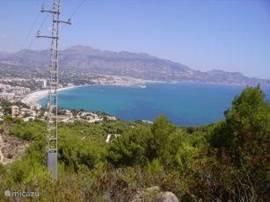 Uitzicht op Albir, Altea en Calpe tijdens een van de wandelingen