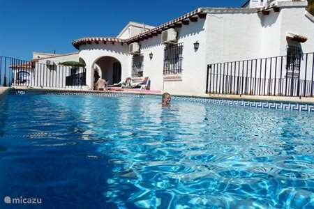 Vacation rental Spain, Costa Blanca, Pego villa Casa Ronaldo