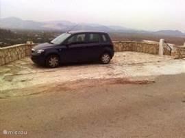 Parkeerplaats.