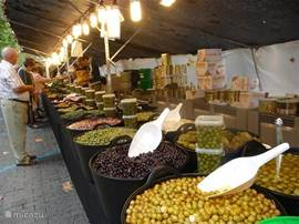 Market in Denia.