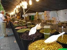 Market in Denia.